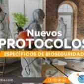 Nuevos protocolos específicos de bioseguridad
